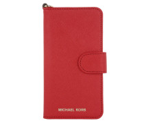 Electronic Folio iPhone 7 Case Bright Red Handy Hülle
