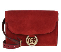 Umhängetasche GG Ring Shoulder Bag New Cherry Red