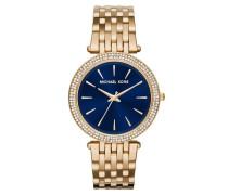 Darci -Tone/Dark Blue Watch Armbanduhr