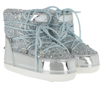 Snow Boot Silver Glitter Schuhe