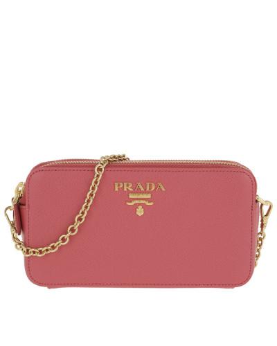Umhängetasche Mini Shoulder Bag Leather Peonia pink