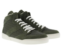 Sneakers - High Top Men´s Sneaker Intrecciato Dark Sergeant