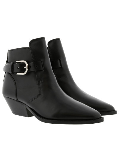 Boots Ducklee Ankle Boots Leather Black schwarz