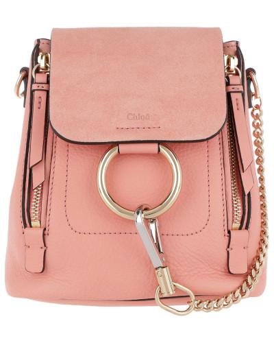 Billiger Preis Neu Chloé Damen Faye Backpack Mini Ideal Blush Tasche Besuch Billig Verkauf Sneakernews Großhandelspreis JSQY7c6