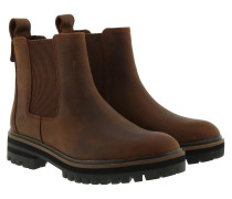Boots London Square Double Gore Chelsea Boot Buckthorn Brown