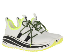 Sneakers Lace Runner Sneaker White/Yellow
