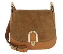 Delfina LG Saddle Bag Acorn Umhängetasche