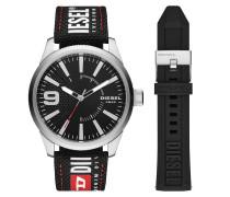 Uhr Watch Set RASP RD DZ1906 Silver