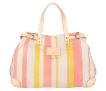 Tasche - Mimi P Printed Canvas Vegetable Pink Solar Stripe