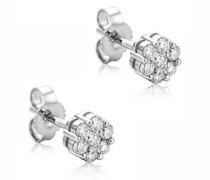 Ohrringe 0.38ct Diamond Stud Earring