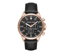 Gents Gage Watch Black Armbanduhr rosa