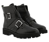 Boots Hoofy Ankleboot Black