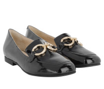 Loafers & Slippers - Cecilia Patent Loafer Black