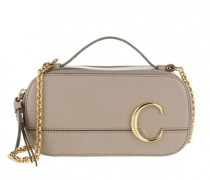Umhängetasche C Vanity Mini Crossbody Bag Smooth Leather Motty Grey