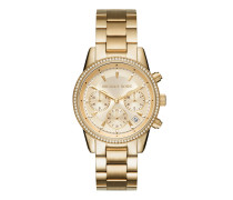 Uhr MK6356 Ladies Ritz Watch Gold-Tone
