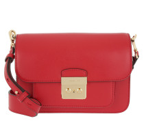 Sloan Editor LG Shoulder Bag Bright Red Umhängetasche