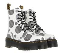 Boots & Stiefeletten Jadon White+Black Polka Dot Smooth