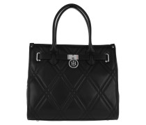 American Icon Tote Quilted Black