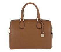 Tasche - Mercer MD Duffle Bag Leather Luggage - in cognac - Henkeltasche für Damen
