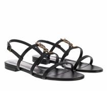 Sandalen & Sandaletten Cassandra Flat Sandals Smooth Leather