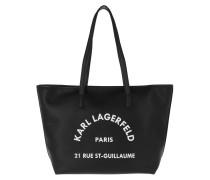 Shopper Rue St Guillaume Tote Bag Black