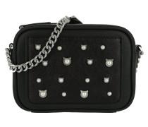 Cat Pearl Umhängetasche Bag Small Black