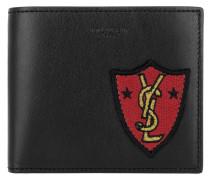 YSL Wallet Black Portemonnaie