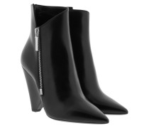 Niki 105 Ankle Boots Black Schuhe