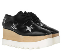 Elyse Platform Sneakers Black/White Sneakers