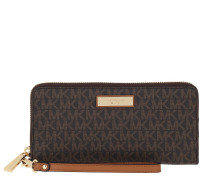 Portemonnaie Jet Set Travel Continental Wallet Brown