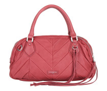 Candice Vintage Water Snake Kiss Red Tote rot