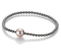 Armband Bracelet Cultured Freshwater Pearls Black Rhodium-Plated