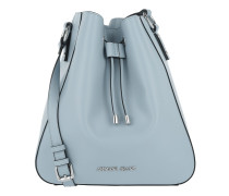 Eco Synthetic Bucket Bag Light Blue