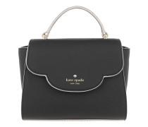 Mini Makayla Waved Crossbody Bag Black Tasche