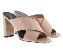 Loulou Sandale Patent Rose Sandalen