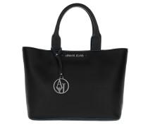 Shopping Bag Short Handle Nero Umhängetasche blau