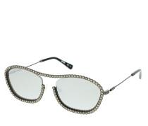 Sonnenbrille MOS071/S Sunglasses Dark Ruthenium Black