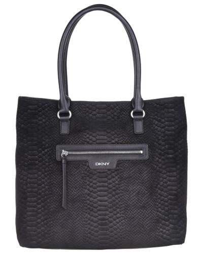 dkny damen dkny tasche active snake print leather tote. Black Bedroom Furniture Sets. Home Design Ideas
