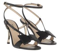 Sandalen Ribbon Sandals Nero