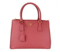 Saffiano Lux Tote Peonia pink