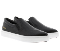 Loafers & Slippers - Trey Pointy Slip On Black