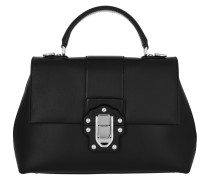 Lucia Calf Medium Tote Nero
