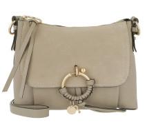 Umhängetasche Joan Grained Shoulder Bag Leather Motty Grey