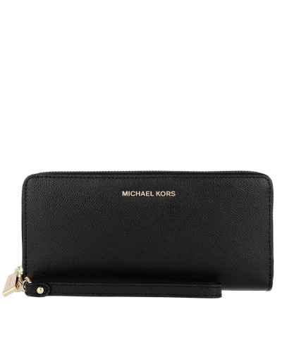 Portemonnaie Travel Continental Wallet Black schwarz