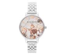 Uhr Watch Marble Florals