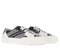Sneakers Chain Tennis Light Low Navy White
