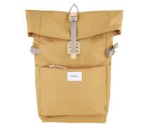 Rucksack Ilon Backpack Leather Yellow