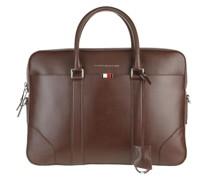 Aktentasche Business Leather Slim Companion Bag Chestnut