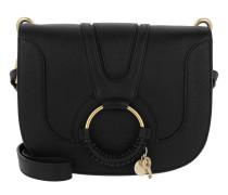Umhängetasche Hana Medium Crossbody Bag Leather Black