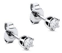 Ohrringe 14KT 0.25ct Diamond Stud Solitaire Earring
